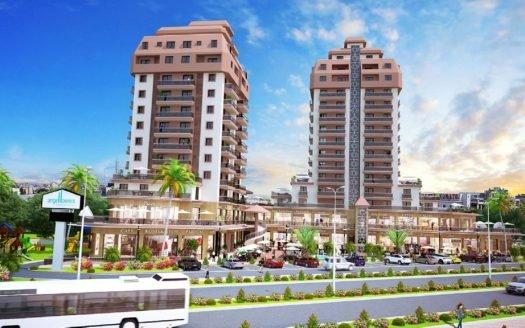Фамагуста Апартаменты 1+1 и 2+1 с ТРЦ на первых этажах