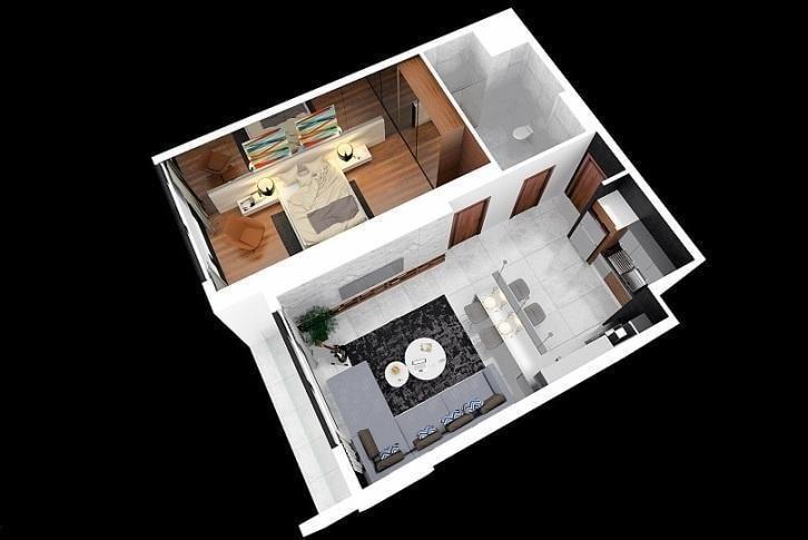 Квартира 1+1