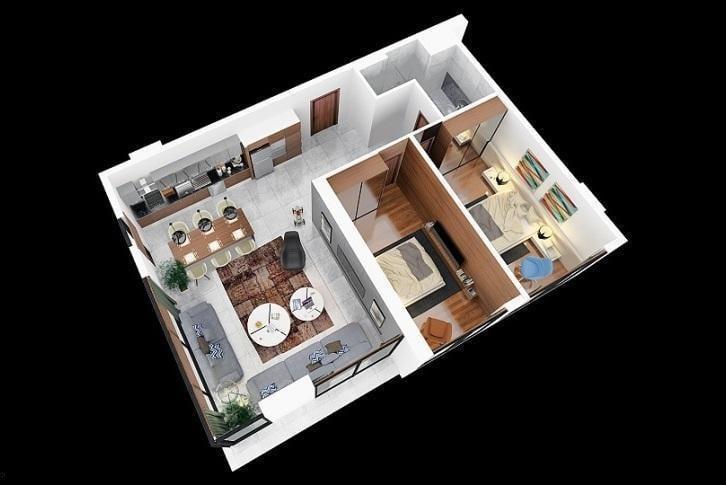 Квартира 2+1